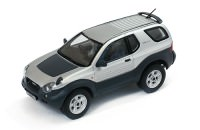 1:43 ISUZU VehiCROSS 4x4 1997 Silver metallic