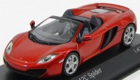 1:43 MCLAREN MP4-12C SPIDER 2012 ORANGE METALLIC