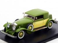 1:43 ROLLS ROYCE Phantom II Croydon Victoria by Brewster (закрытый) 1932 Green/ Yellow