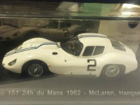 1:43 MASERATI Tipo 151 #2 McLaren/Hangsen 24h du Mans 1962