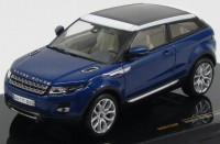 1:43 RANGE ROVER EVOQUE (3 двери) 2011 Baltic Blue and White