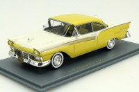 1:43 FORD Fairlane 500 Hardtop Coupe 2-Door 1957 Yellow/White