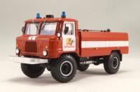 1:43 АЦ-30(66), модель 184 Автоцистерна пожарная на шасси Горький-66-01 обр. 1978 г.