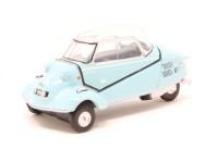 1:76 MESSERSCHMITT KR200 Bubble Car 1955 Top Light Blue