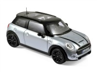 1:18 MINI COOPER S 2015 Silver Metallic/Black