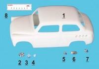 1:43 Москвич 444 ТрансКит для моделей IST