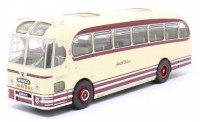 "1:43 автобус AEC Reliance WEYMANN Fanfare ""South Wales"" (OXFORD 25 Years) 1954 Beige/Maroon"