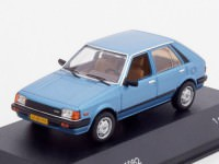 1:43 MAZDA 323 Hatchback 1982 Metallic Blue