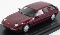 1:43 PORSCHE 928 H50 Concept Car 1987 Metallic Dark Red