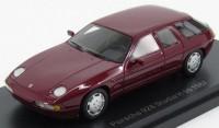 1:43 PORSCHE 928 H50 Concept Car 1987 Metallic Dark Red