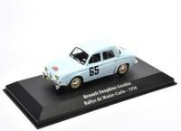 1:43 RENAULT Dauphine Gordini #65 Rally Monte Carlo 1958
