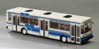 1:43 Ликинский автобус 5256 (белый, с синими полосами)