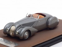 1:43 BENTLEY 4,25 Litre Roadster Chalmers & Gathings #B25GP (открытый) 1936 Metallic Grey