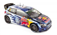 1:18 VW POLO R WRC #1 S.Ogier-J.Ingrassia World Champion Winner Rally RACC Catalunya 2014