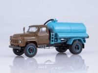 1:43 Ассенизационная машина АНМ-53 (53А), хаки / голубой