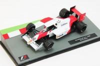 1:43 McLaren MP4/4 1988 as driven by Ayrton Senna, white / red