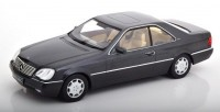 1:18 MERCEDES-BENZ 600 SEC (C140) 1992 Metallic Anthracit