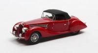 1:43 DELAHAYE 135MS Grand Sports Roadster Figoni Falaschi (закрытый) 1939 Red