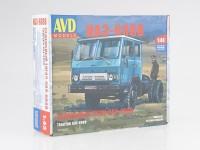 1:43 Сборная модель Седельный тягач КАЗ-608В