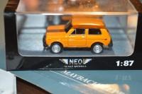 1:87 ВАЗ-2121 Нива оранжевый
