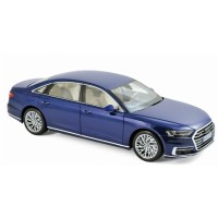 1:18 AUDI A8 L (D5) 2017 Blue Metallic