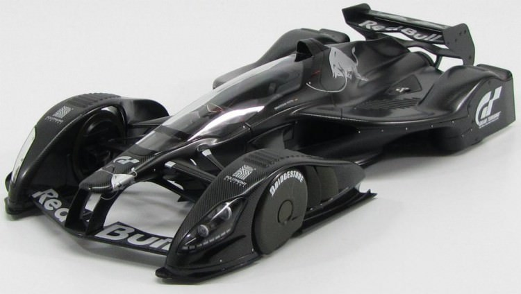 1:18 Red Bull X2010 prototype (carbon black)