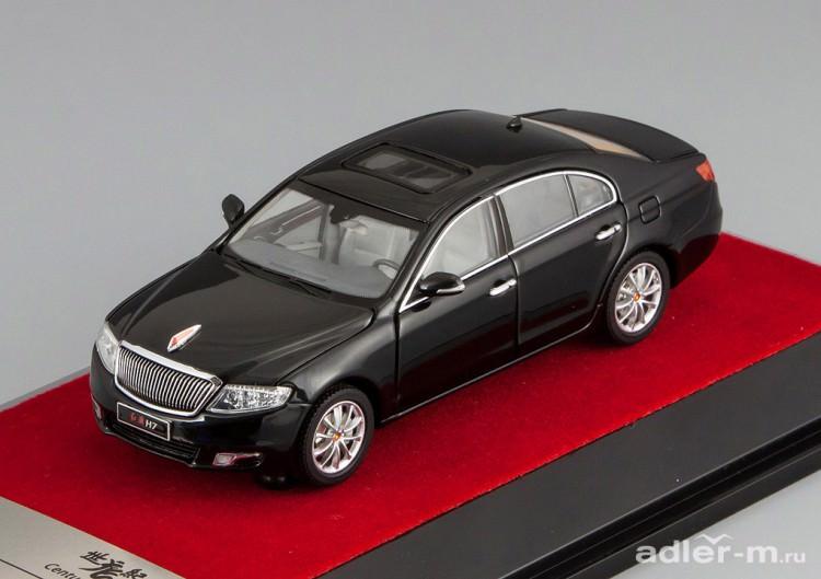 1:43 Hongqi H7 Sedan [всё открывается] (black)