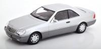 1:18 MERCEDES-BENZ 600 SEC (C140) 1992 Silver