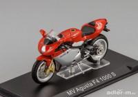 1:24 MV Agusta F4 1000 S (red / silver)