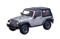 1:43 JEEP Wrangler 4х4 Rubicon 10th Anniversary 2014 Billet Silver Metallic