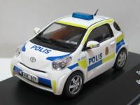 """1:43 TOYOTA IQ """"POLIS"""" (полиция Швеции) 2011"""