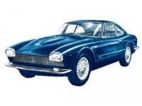 1:43 MASERATI 5000GT Bertone 1961 Metallic Blue