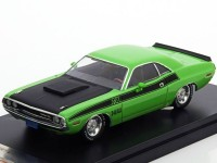 1:43 DODGE Challenger T/A 1970 Green/Black
