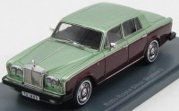 1:43 ROLLS ROYCE Silver Shadow II 1977 Metallic Light Green/Dark Red