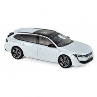 1:43 PEUGEOT 508 SW GT 2018 Pearl White