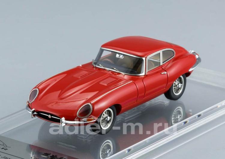 1:43 Jaguar E-Type Series 1 Coupe 1961 (carmin red)