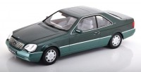 1:18 MERCEDES-BENZ 600 SEC (C140) 1992 Metallic Green