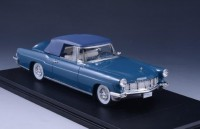 1:43 LINCOLN Continental Mark II Convertible (закрытый) 1956 Blue