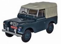 "1:43 LAND ROVER Series II SWB Soft Top ""RAF Police"" (военная полиция) 1960"