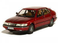 1:43 SAAB 900 V6 (5 дверей) 1994 Metallic Dark Red