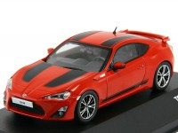 1:43 TOYOTA GT86 1st Edition  2012 Red/Black