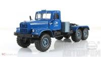 1:43 КРАЗ 255В1 седельный тягач, голубой