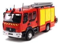 1:43 RENAULT Double Cabine D15 FPT Rosenbauer (пожарный) 2016