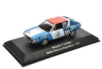1:43 RENAULT 17 Gordini #12 Rally Regardless 1974