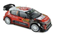1:18 CITROËN C3 WRC #7 Meeke/Nagle Winner Rally Catalunya 2017