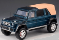1:43 Mercedes-Maybach G650 4х4 Landau (W463) (закрытый) 2017 Metallic Blue