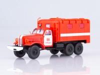 1:43 Пожарный рукавный автомобиль АР-2 (157К), красно-белый