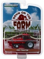 1:64 трактор International Harvester 3488 1982 Red and Black