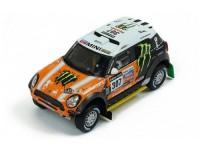 1:43 MINI ALL 4 RACING #307 Новитский/Жильцов 3 место Dakar 2013