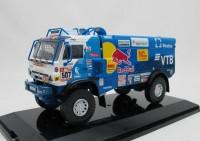 1:43 Камский грузовик 4326 ралли ДАКАР-2018 #507 (3-е место)